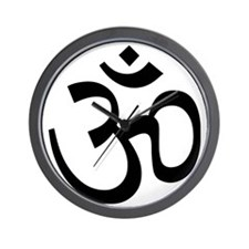 Yoga Ohm, Om Symbol Wall Clock