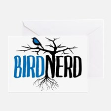 Bird Nerd Greeting Card