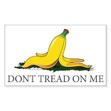 Dont Tread On Me Banana Peel W Decal