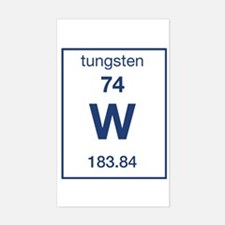 Tungsten Rectangle Decal