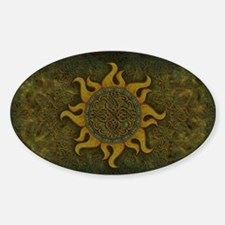 Ancient Sun Sticker (Oval)