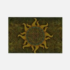 Ancient Sun Rectangle Magnet