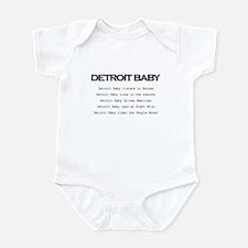 Detroit Baby Infant Bodysuit