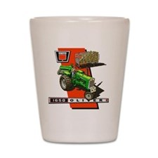 Oliver 1650 Tractor Shot Glass