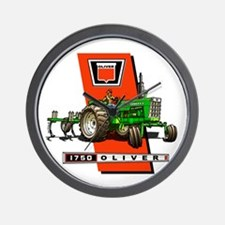 Oliver 1750 Tractor Wall Clock
