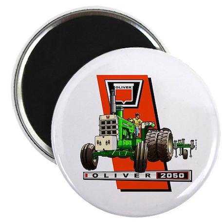 Oliver 2050 Tractor Magnet