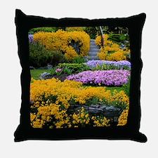 Gardens Color Explosion Throw Pillow