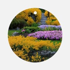 Gardens Color Explosion Round Ornament