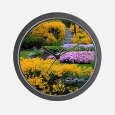 Gardens Color Explosion Wall Clock