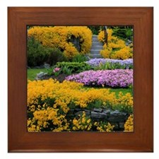 Gardens Color Explosion Framed Tile