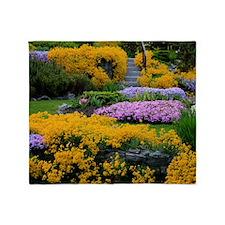 Gardens Color Explosion Throw Blanket