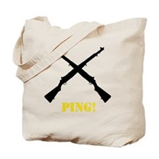 M1 Garand Yellow Tote Bag