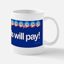 +17 Trillion government debt bumper sti Mug