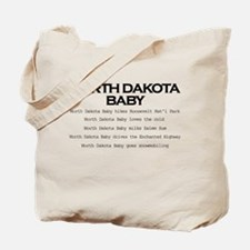 Cute North dakota cities Tote Bag