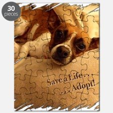Save a Life . . . Adopt! Puzzle
