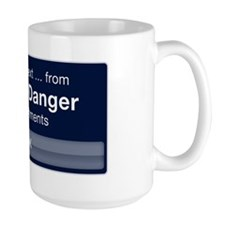 Text Message from Carlos Danger Mug