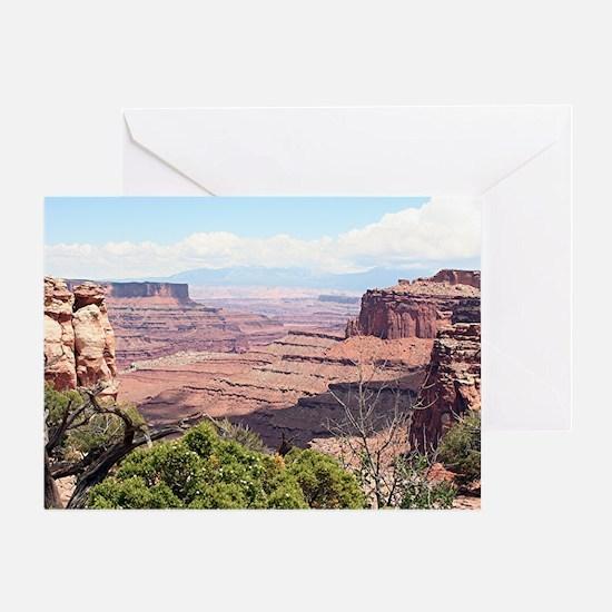 Canyonlands National Park, Utah, USA Greeting Card