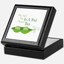 Me And You In A Pod Makes Two Keepsake Box