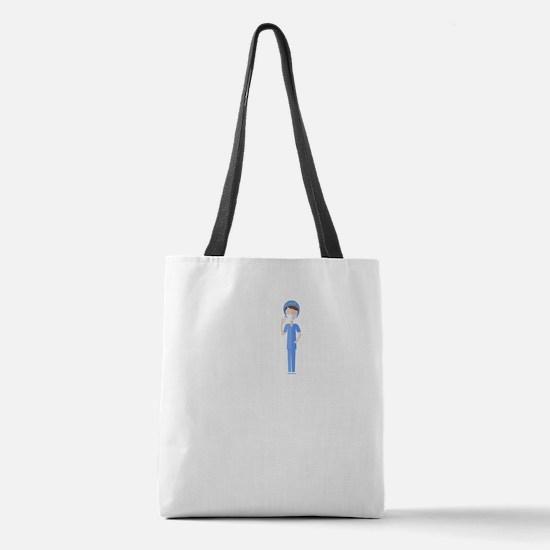 Best Nurse Jobs Polyester Tote Bag