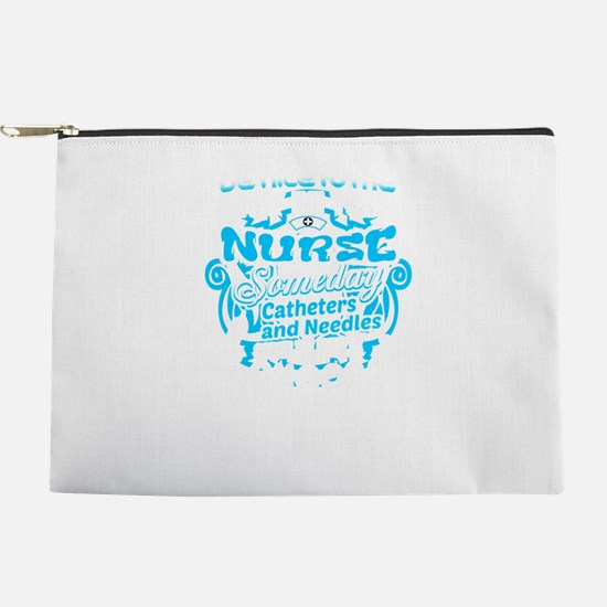 Be Nice To Me I'm Your Nurse Makeup Pouch