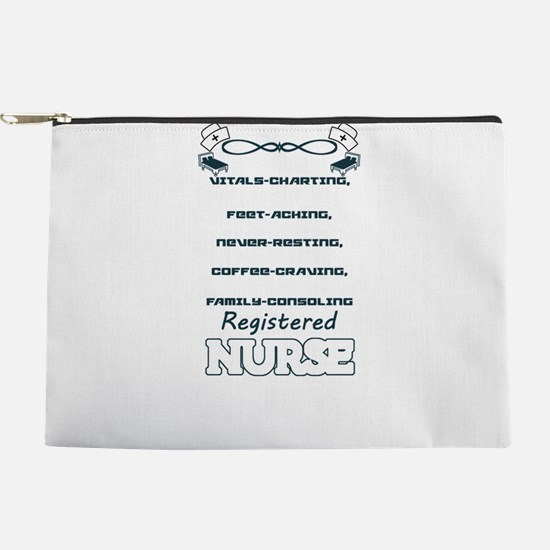 Registered Nurse Makeup Pouch
