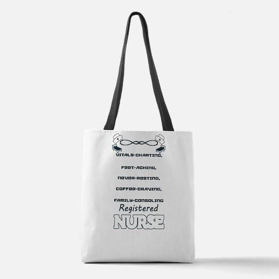Registered Nurse Polyester Tote Bag