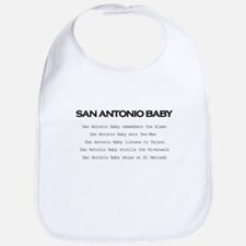 San Antonio Baby Bib