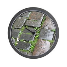 Edinburgh Cobblestones 2 Wall Clock