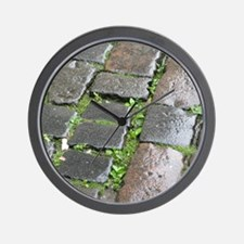 Edinburgh Cobblestones 2 Wall Clock