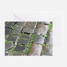 Edinburgh Cobblestones 1 Greeting Card