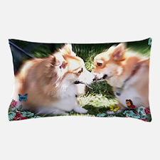 Two Corgis meet Pillow Case