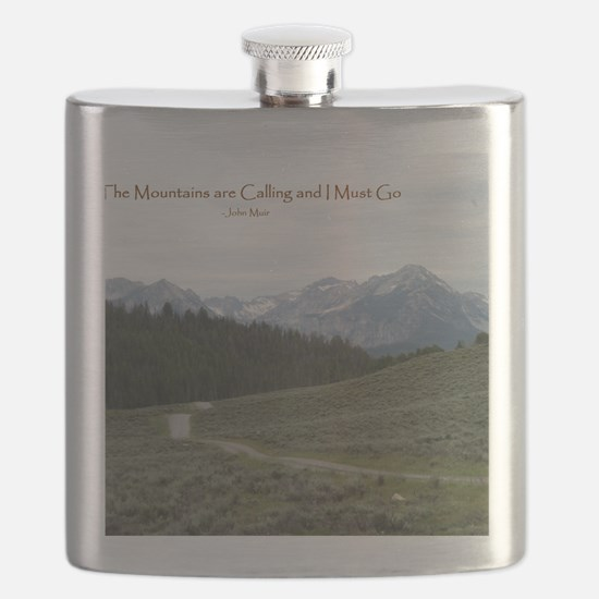 The Sawtooth Mountains are Calling Flask