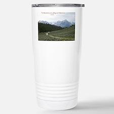 The Sawtooth Mountains  Travel Mug