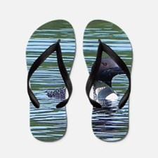Wet Loon Flip Flops