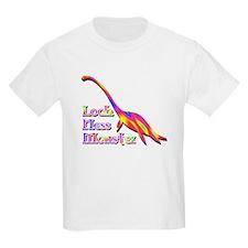 Loch Ness Monster Rainbow T-Shirt