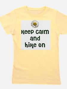 Keep Calm and Hike On Girl's Tee
