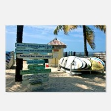 Southernmost Beach Postcards (Package of 8)