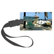 Southernmost Beach Luggage Tag