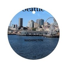 Seattle_2.5x3.5_Ornament(Oval)_Seat Round Ornament