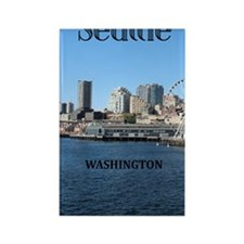 Seattle_5.5x8.5_Journal_SeattleWa Rectangle Magnet