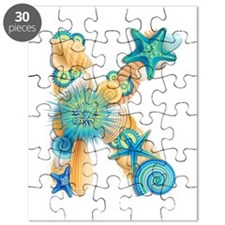 Beach Theme Initial K Puzzle