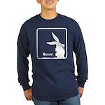 The Geeks Easter Long Sleeve Dark T-Shirt