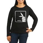 The Geeks Easter Women's Long Sleeve Dark T-Shirt