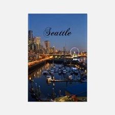 Seattle_5X7_Card_SeattleWaterfron Rectangle Magnet