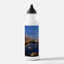 Seattle_5X7_Card_Seatt Water Bottle