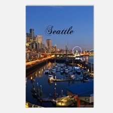Seattle_5X7_Card_SeattleW Postcards (Package of 8)