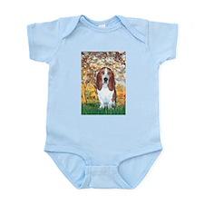 Monet's Spring & Basset Infant Bodysuit