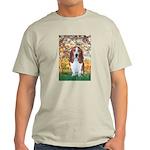 Monet's Spring & Basset Light T-Shirt