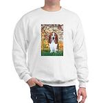 Monet's Spring & Basset Sweatshirt