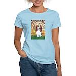 Monet's Spring & Basset Women's Light T-Shirt